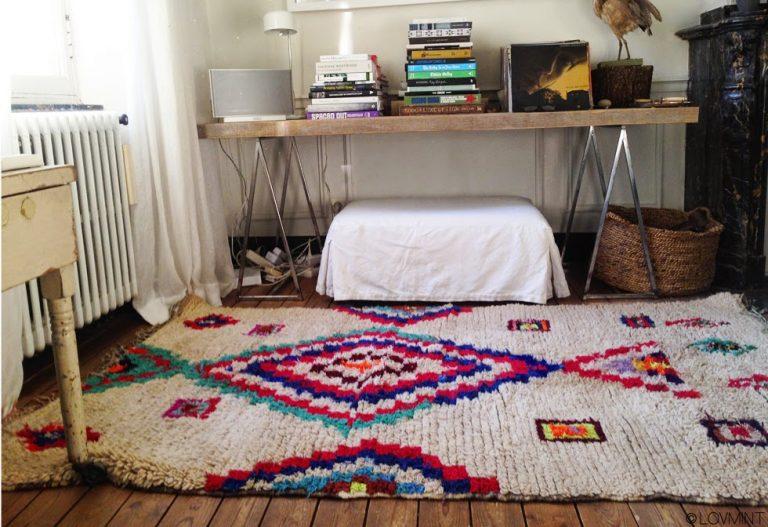 Comment sont élaborés les tapis berbères ?